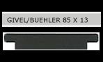 Givel/Bühler – Briefkastenschild
