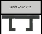 Huber – Briefkastenschild